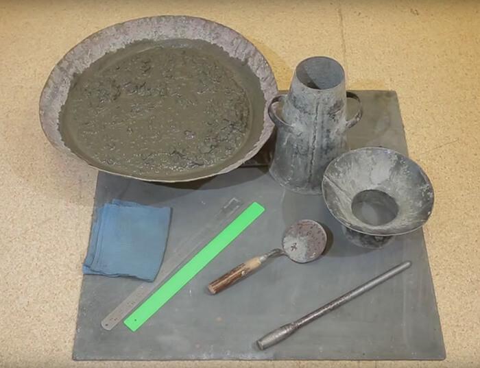 Определение свойств бетонной смеси