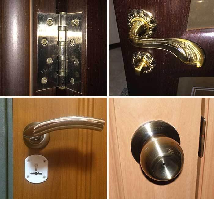 Экспертная оценка фурнитуры дверей