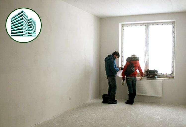 Как следует принимать квартиру у компании