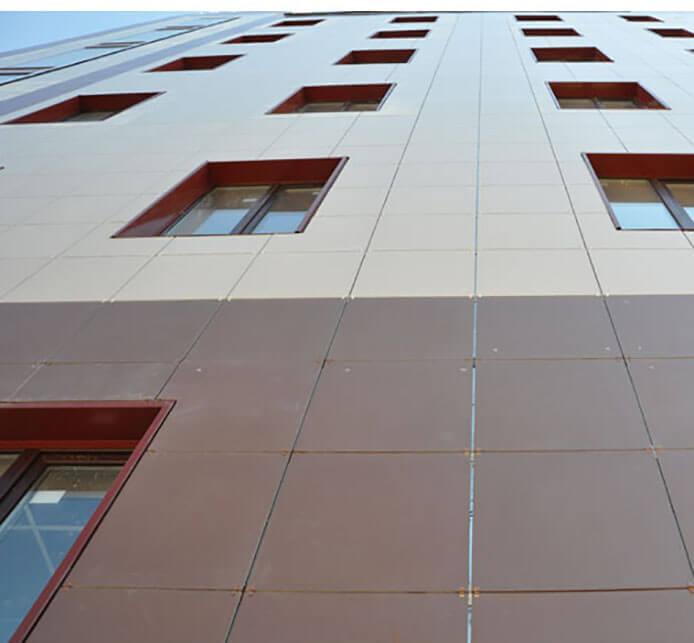 материалы применяются в облицовке фасадов