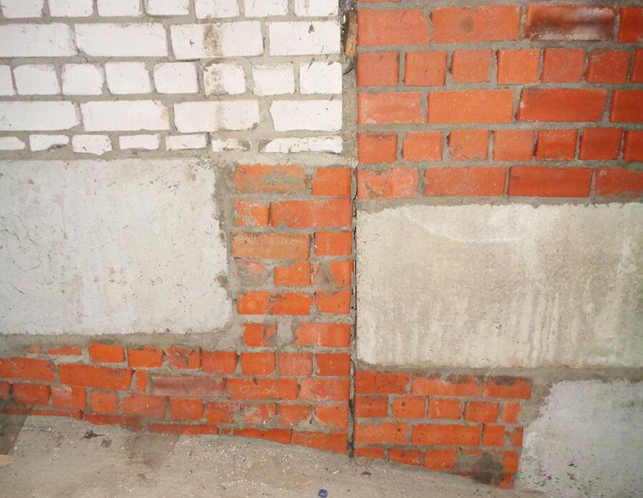 Экспертиза кирпичных стен