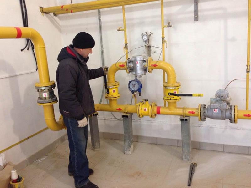 Экспертиза газа в многоэтажном доме