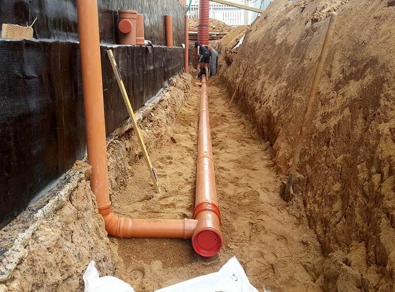 Экспертиза канализации. Прокладка канализации в многоэтажном доме