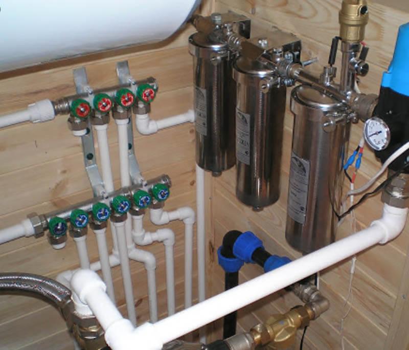 Экспертиза водопровода в загородном доме