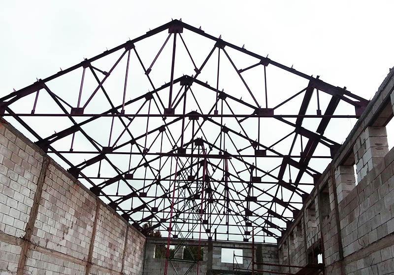 Экспертиза металлоконструкции ферм в поселке