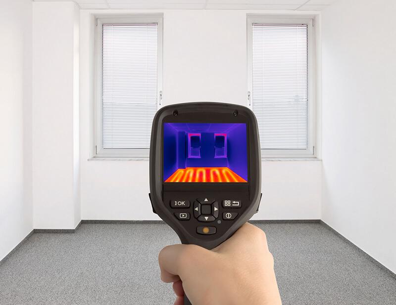 Тепловизионное обследование зданий и сооружений в Йошкар-Оле