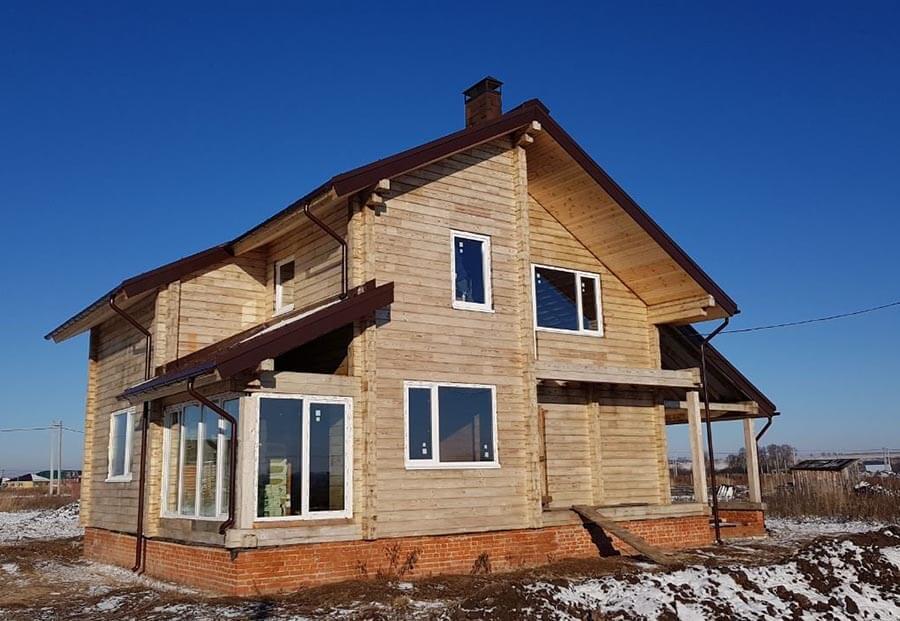 Деревянный частный дом
