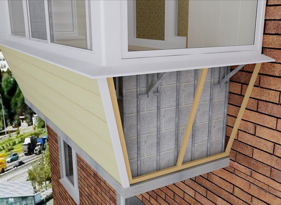 Экспертиза лоджий и балконов